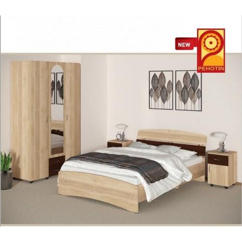 Модульная спальня Милана (ДСП) Пехотин