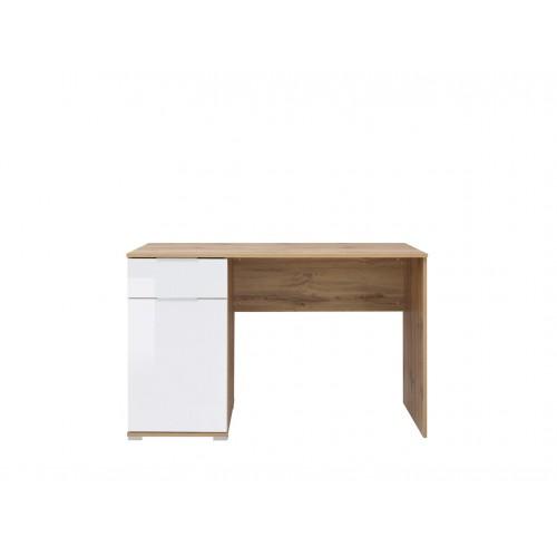 Стол письменный BIU 120 Злата Black Red White (BRW, БРВ)