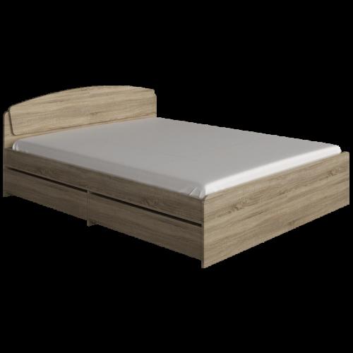 Кровать Астория 1.6х2.0 с ящиком Эверест