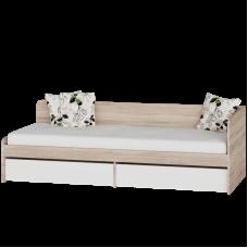 Кровать 800 Соната с ящиками