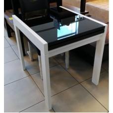 Стол Слайдер со стеклом  1000
