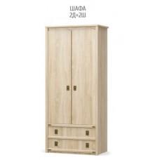 Шкаф 2Д+2Ш Валенсия
