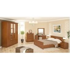 Модульная спальня Даллас (вишня)