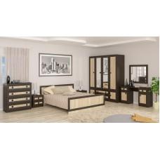 Модульная спальня Даллас (дуб самоа)
