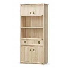 Книжный шкаф 4Д+1Ш Валенсия