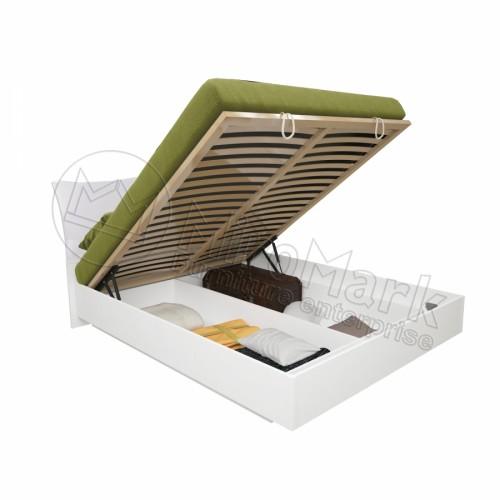 Кровать 1.8 Богема подъемная с мягким изголовьем и каркасом MiroMark (Миромарк)