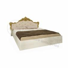 Кровать 1.6 Дженнифер с мягким изголовьем