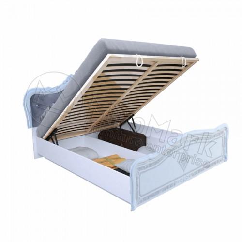 Кровать 1.6 Луиза Люкс подъемная с каркасом MiroMark (Миромарк)