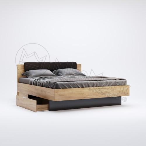 Кровать 1.6 Луна с мягким изголовьем MiroMark (Миромарк)
