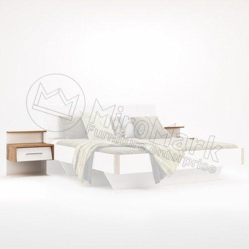 Тумба прикроватная приставная Ники MiroMark (Миромарк)