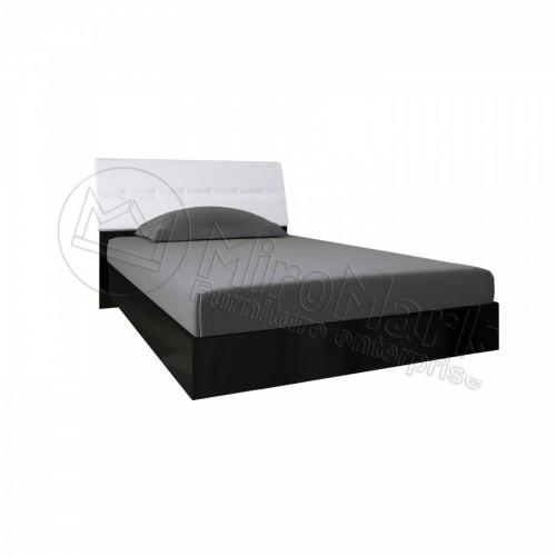 Кровать 1.4 Терра с мягким изголовьем MiroMark (Миромарк)