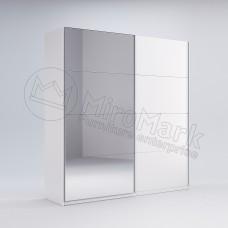 Шкаф купе Фемили 1,5 (Двери глянец/зеркало)