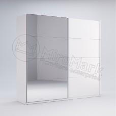 Шкаф купе Фемили 2,0 (Двери глянец/зеркало)