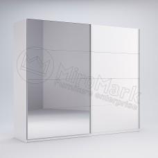 Шкаф купе Фемили 2,5 (Двери глянец/зеркало)
