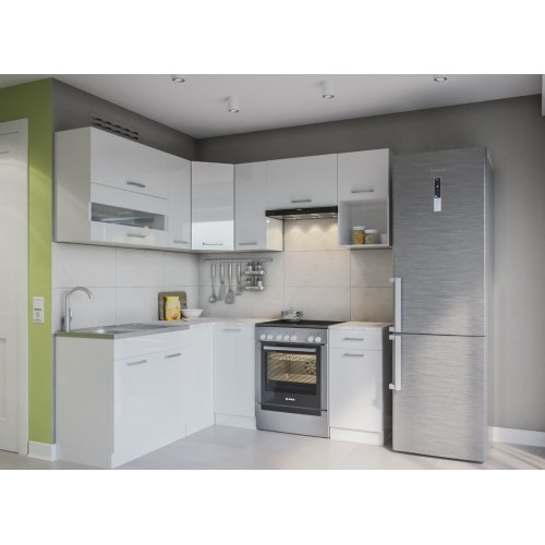 """Модульная кухня """"Алина"""" Світ меблів лак 2 м. Світ меблів"""