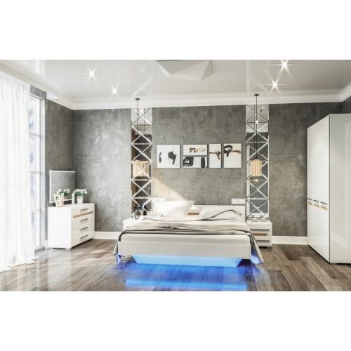 Модульная спальня Бьянко Світ меблів