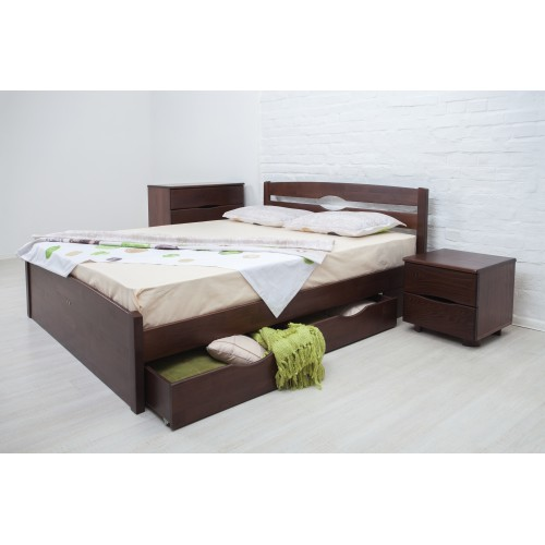 Кровать Лика люкс с ящиками Олимп