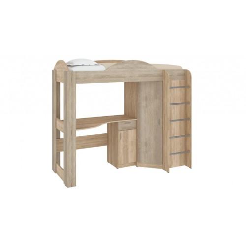 Двухъярусная кровать-чердак Орбита Пехотин
