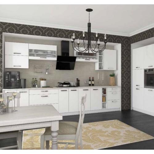 Модульная кухня Шарлотта (белая)
