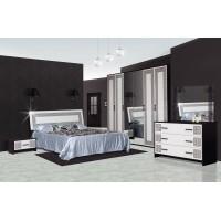 Модульная спальня Бася Новая (шкаф 4ДЗ)