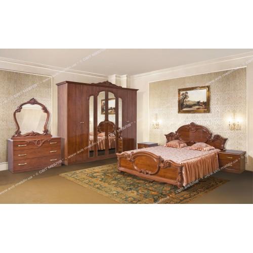 Модульная спальня Империя (шкаф 6Д) Світ меблів