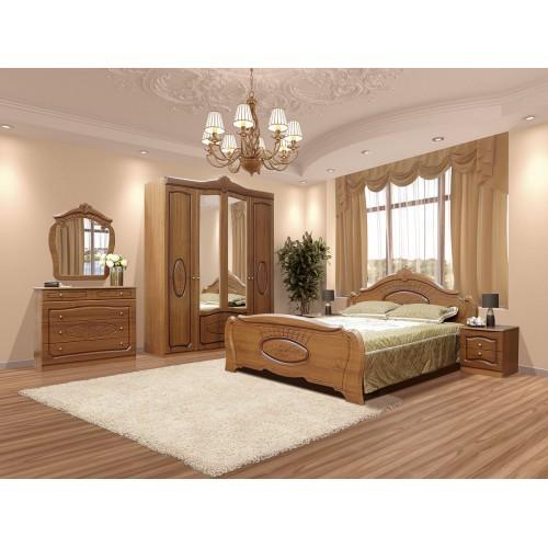 Модульная спальня Катрин (шкаф 4Д) Світ меблів