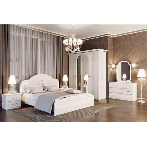 Модульная спальня Лаура (шкаф 4Д) Світ меблів