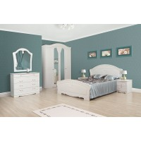Модульная спальня Луиза (шкаф 4Д)