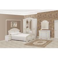 Модульная спальня Луиза 4Д (патина)