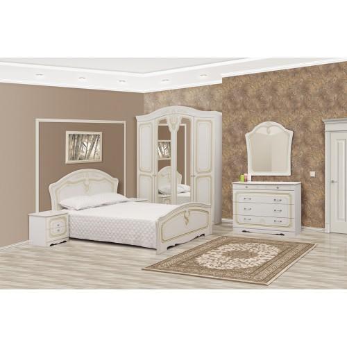 Модульная спальня Луиза 4Д (патина) Світ меблів