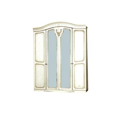 Шкаф 4Д Луиза (патина) Світ меблів