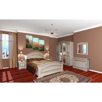 Модульная спальня Николь (шкаф 4Д)