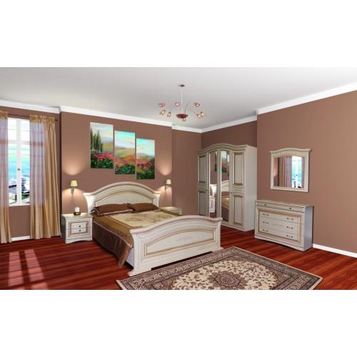 Модульная спальня Николь (шкаф 5Д) Світ меблів