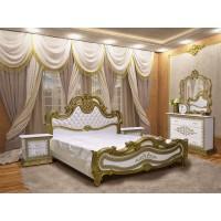 Модульная спальня София Люкс Ретро (шкаф 4Д)