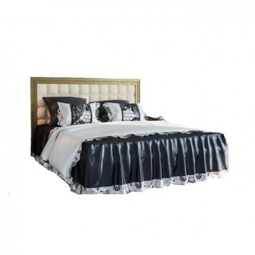 Кровать 2 СП 1.6 София Люкс с мягким изголовьем Світ меблів