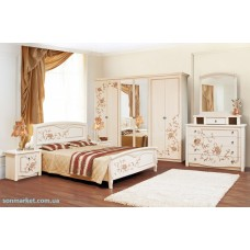 Модульная спальня Ванесса (шкаф 4Д)