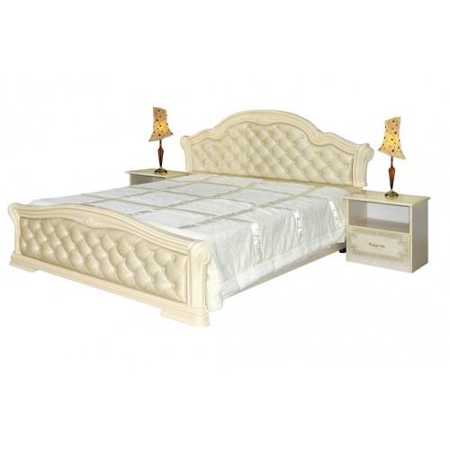 Кровать Венеция новая 160 пино беж Світ меблів