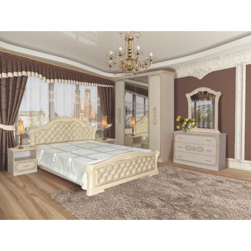 Модульная спальня Венеция новая пино беж Світ меблів