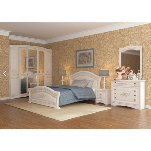 Модульная спальня Венера Люкс (береза) Сокме