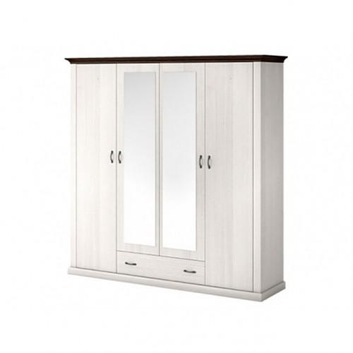 Шкаф 4D1S (2 зеркала) Лавенда ВМВ Холдинг
