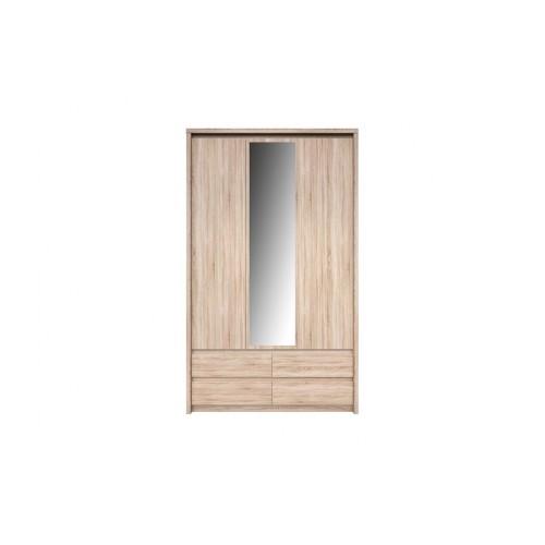 Шкаф SZF 3D4S (с зеркалом) Нортон ВМВ Холдинг