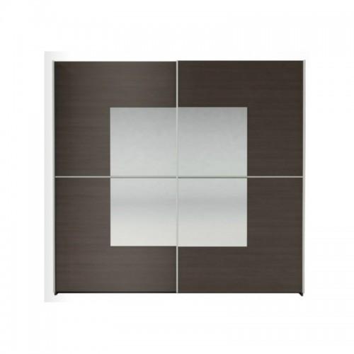 Шкаф 2D (2 зеркала) Алабама ВМВ Холдинг