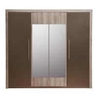 Шкаф 4D (2 зеркала) Джульетта