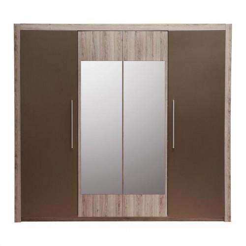 Шкаф 4D (2 зеркала) Джульетта ВМВ Холдинг