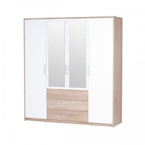 Шкаф 4D3S (2 зеркала) Рико ВМВ Холдинг